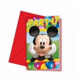 Kutse 'Mickey Party time',...