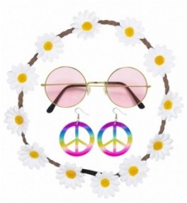 Komplekt Hippie (prillid,...