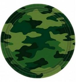 Taldrik 22,8cm Camouflage,...