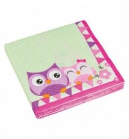 Salvrätikud 'Happy Owl' 33...