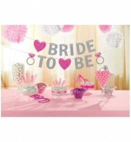 Banner Bride to Be Hen...