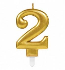 "Number Candle ""2"" Sparkling..."
