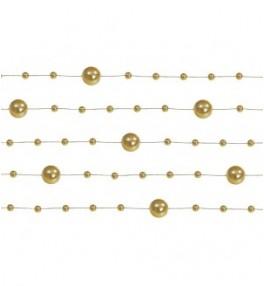 Kett pärlitega kuldne, 1,3...