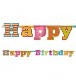 Banner Happy Birthday, 16 x...