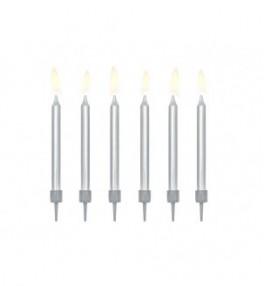 Küünlad 'Birthday silver',...