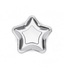 Taldrik 23 cm Star hõbe,...