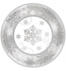 Taldrik 18,00cm Snowflake,...