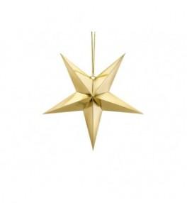 Paberist täht kuldne, 45cm