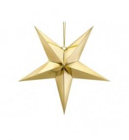 Paberist täht kuldne, 70cm