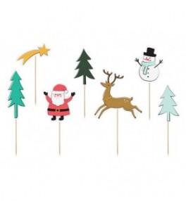 Kanapee tikud 'Merry Xmas',...