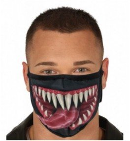 Korduvkasutatav naomask Venom