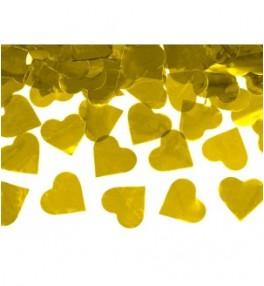 Confetti cannon 'gold...