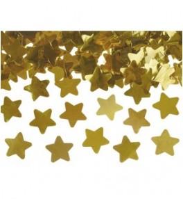 Confetti cannon, gold...