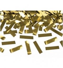 Confetti cannon, gold 60 cm