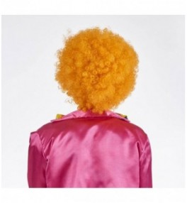 Klouni parukas orange