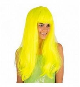 Parukas neon yellow