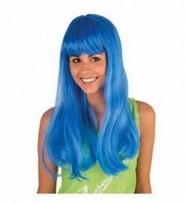 Parukas neon blue