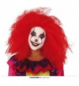 Parukas Red Clown