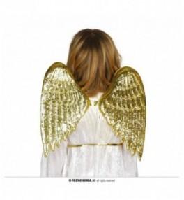 Tiivad kuldne ingel 40 * 35cm