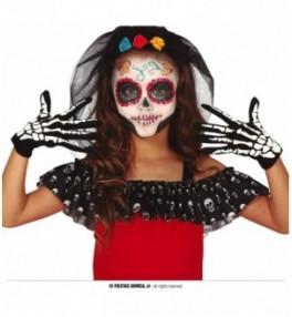 Laste kindad 'Skeleton gloves'