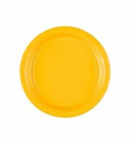 Taldrik 17,7 cm kollane...