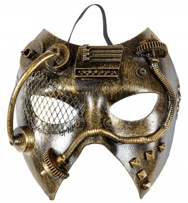 Mask Steampunk copper