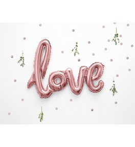 Tähed 'Love Rose Gold' 73x59cm