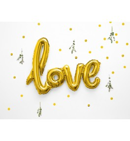 Tähed 'Love Gold' 73x59cm