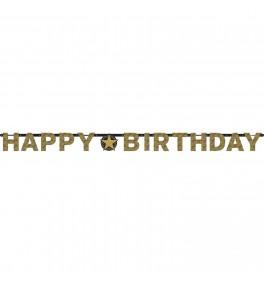 Banner prismatic 'Happy...