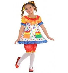 Kostüüm Kloun laste (kleit)