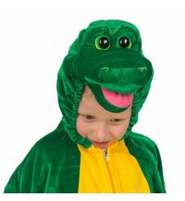 Lastekostüüm Krokodill 116 cm