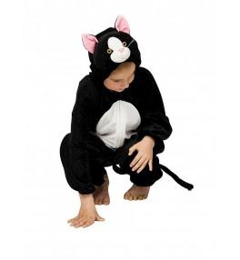 Lastekostüüm Kass must (116...