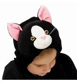 Lastekostüüm Kass must (128...