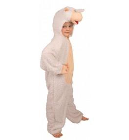 Lastekostüüm Lammas (104 cm)