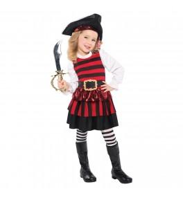 Lastekostüüm Pirate Girl 4-6a