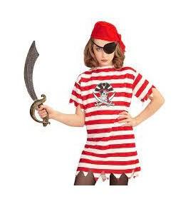 Lastekostüüm piraat 158cm...