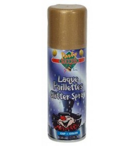 Spray glitter gold 125ml