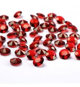 Konfetti 'Deep red' 12mm