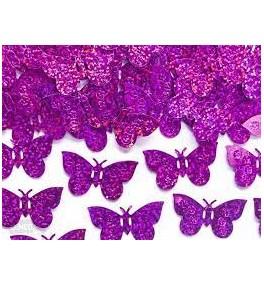 Konfetti 15g (roosad liblikad)