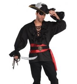 Särk must Piraat M/L