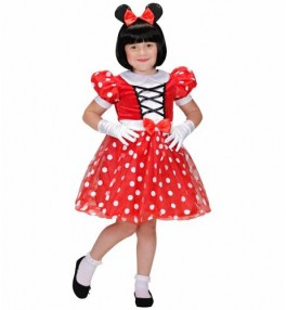 Lastekostüüm Minnie (kleit,...