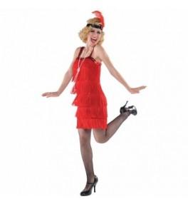 Kostüüm Red Flapper Dress M/L