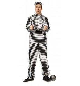 Kostüüm vang +müts