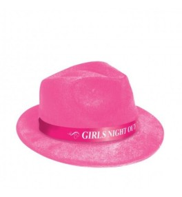 """Pink hat """"Girl's Night Out"""""""