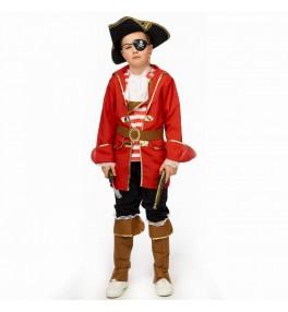 Lastekostüüm piraat (152 cm)