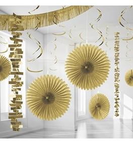 Dekoratsioon Kit Gold, 18tk