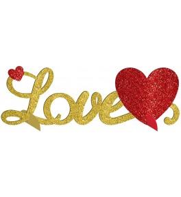 Dekoratsioon lauale Love...