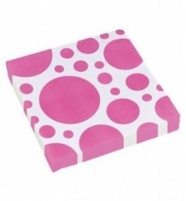 Salvrätikud 'Pink Dots'...