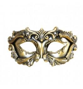 Mask Baroque Colombina bronze
