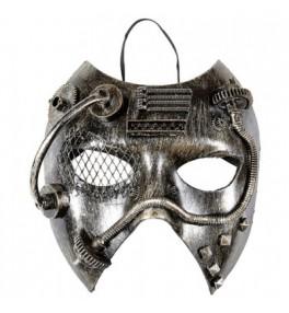 Mask Steampunk silver